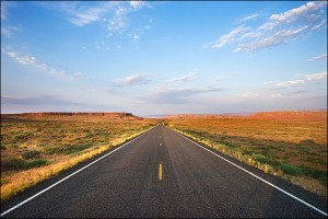 An open road is ahead of us, who knows what will happen.