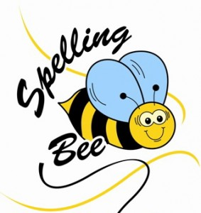 A very simple logo for the Spelling Bee.